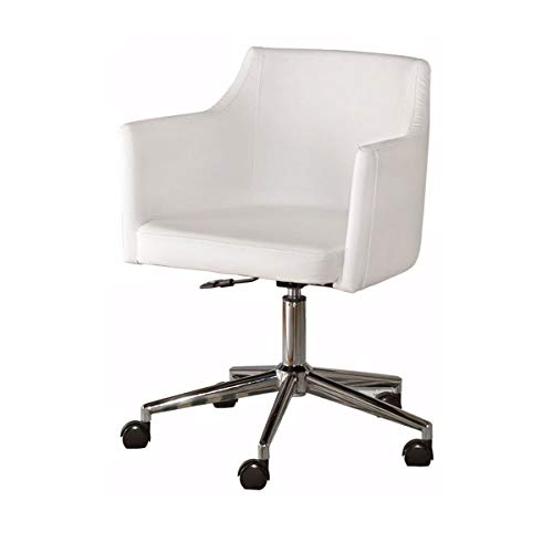 (RMXMY Simple Modern Small Apartment Sofa Chair Computer Chair Leisure Hotel Coffee Chair Adjustable Rotating Office Chair - casters - Contemporary -)