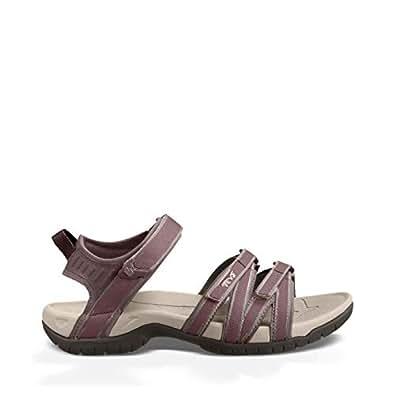 Teva Women's Tirra Open Toe Athletic & Outdoor Sandals, Plum Truffle, 5 US