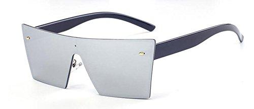 retro du polarisées inspirées lunettes cercle Mercure de vintage rond soleil en style Blanc métallique Lennon wCYCAqa