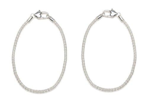 Darice 8 Inch Sterling Silver Bracelet