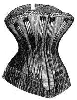 1886 Spoonbill Corset Pattern (Wyatt Earp Costume)