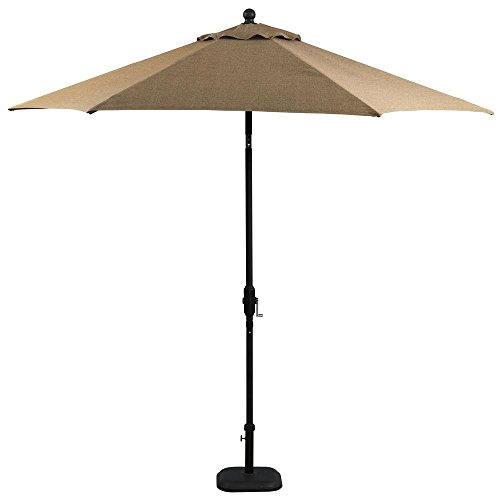 Castle Rock 9 ft. Market Patio Umbrella in (Umbrella Toffee)