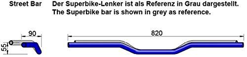 Matt-Schwarz LSL 122A000MB Alu-Lenker A00