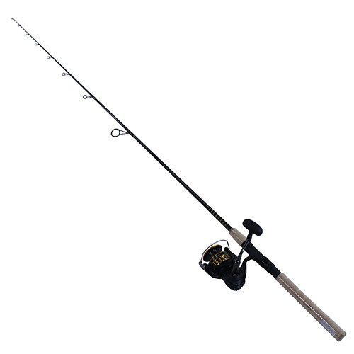 Daiwa BG4000/701MH BG Saltwater Pre-Mounted Spinning Combo, 7′ Length, 1Piece Rod, 7 Bearings, Medium/Heavy Power
