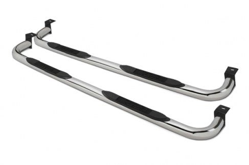 4000 Series Nerf Bars for 2007-2013 WRANGLER 2 DOOR / Sport, S, X, Sahara, Rubicon, X, COD: MW3 (All Models Without Factory Rock Rails) POL. S/S