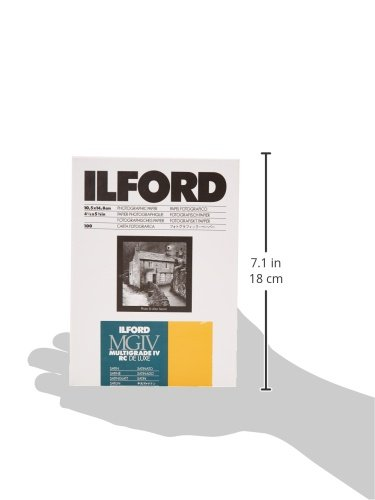 Ilford Multigrade IV RC Deluxe- Papel fotográfico, 10.5 x 14.8 cm, 100 hojas: Amazon.es: Oficina y papelería