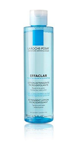 La Roche-Posay Effaclar Micro-Exfoliating Astringent Facial Toner to Visibly Tighten Pores, 6.76 Fl. Oz.