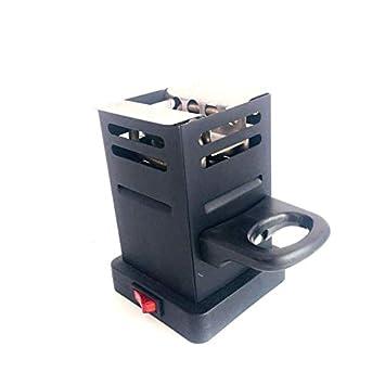 600W Hookah Electric Charcoal Burner Charcoal Starter Bar Hookah Shisha Nargila Calentador Estufa Horno de Carbono: Amazon.es: Jardín