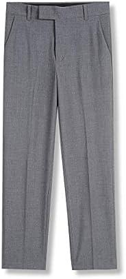 Calvin Klein Boys Bi-Stretch Flat Front Dress Pant