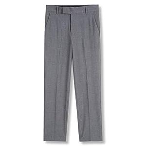 Calvin Klein Boys' Bi-Stretch Flat Front Dress Pant