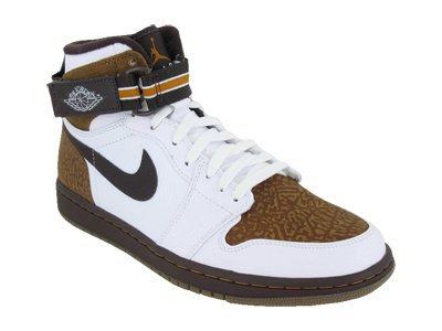 official photos ce437 38276 Air Jordan 1 Retro High (White / Madeira-Ginger) 11 ...