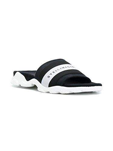 Sandales Noir Femme Polyester Blanc Stella McCartney 501758W0KWC1006 nxOwFBzzq