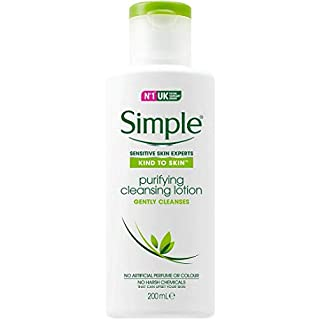 Simple Kind to Skin Purifying Cleansing Lotion 200 ml (6.7 Ounce)