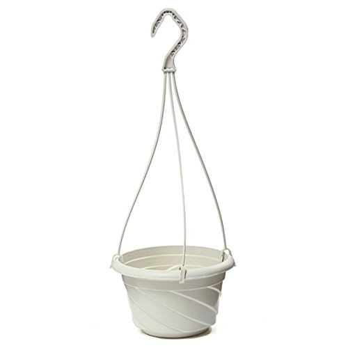 TOOGOO(R) Hanging Flower Plant Pot Chain Basket Planter Holder Home Garden Balcony Decoration (Well Planter Basket)
