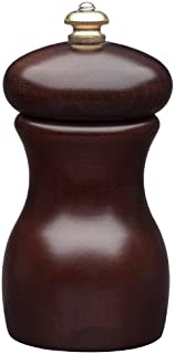 product image for Fletchers' Mill Marsala Collection Pepper Mill, Walnut Stain - 4 Inch, Adjustable Coarseness Fine to Coarse, MADE IN U.S.A.
