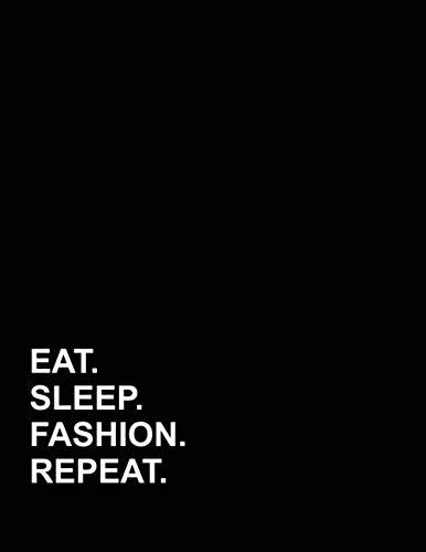Fashion Column - Eat Sleep Fashion Repeat: Appointment Book 4 Columns