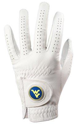 West Virginia Mountaineers Golf Glove & Ball Marker – Left Hand – Medium   B00BFLOFIG