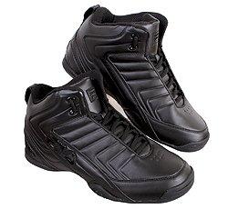 Fila Mens Dls Embrayage Noir Basketball Mi Chaussures Noir / Noir