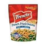 Frenchs French Fried Onion - 25 lb. pack, 1 per case