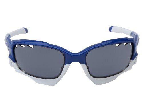 140c3ea34e Oakley Men s Jawbone Sport Sunglasses (Team Navy Blue Frame Grey Lens) -  Buy Online in UAE.