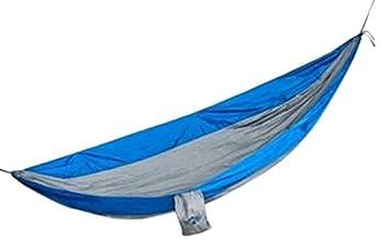 Leward Portable Parachute Fabric Lightweight Travel Camping Hammock, Nylon