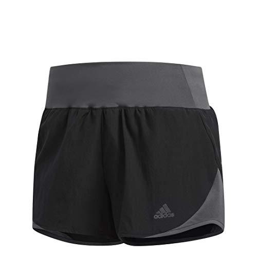 """adidas Women's Run It Shorts, Black/Grey, Medium 3"""""""