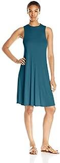 product image for good hYOUman Women's Slim Jamie Atlantic Deep Mock Neck Dress