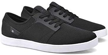 Rip Curl Men's Raglan Skate Shoe, Black