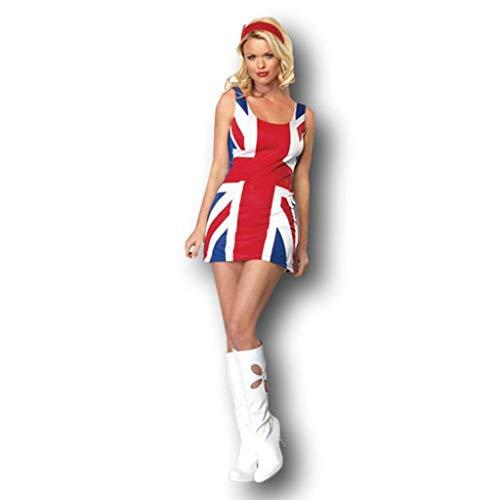 Rubber Johnnies British Flag Dress Costume, US
