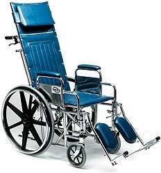 Amazon.com: Evermed reclinable silla de ruedas del Milenio ...