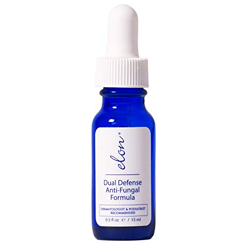ELON - Dual Defense Anti-Fungal Formula - 15ml - Professionally Formulated to Fight Toenail & Fingernail Fungus - High Concentration of Undecylenic Acid - 25% - Safe, Natural & Effective