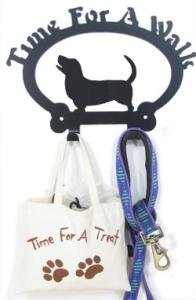 Dog Leash Hook – Basset Hound (Time for a Walk), My Pet Supplies