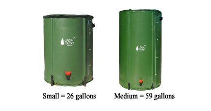 Collapsible Rain Barrel 26 Gallon