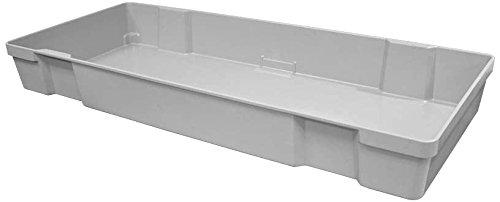 Toteline 9270085136 Large Nesting Container, Glass Fiber Reinforce Plastic Composite, Gray, Capacity 300 lb, 42