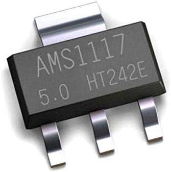 70Piece AMS1117 Voltage Regulator Kit 1.2V//1.5V//1.8V//2.5V//3.3V//5.0V//ADJ NEW