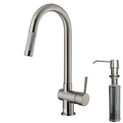 VIGO Modern Pull-Down Kitchen Faucet