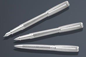 S.T. Dupont Elysee Diamondhead Fountain Pen - Diamond-Head, Medium Nib 410605M