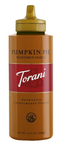 Torani Pumpkin Pie Flavored Sauce 16.5 ounce