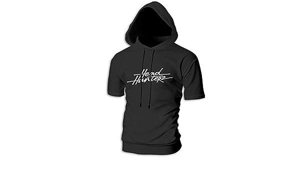 WQTYIUIO Headhunterz Men/'/'s Slim Fit Hoodie Casual Hooded T-Shirt