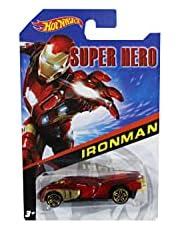 Hot Whack Super Hero Iron Man Car - Red
