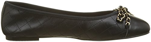 Punta Nero Office 00078 Chiusa Flo Leather Ballerine Donna Black fExOwz