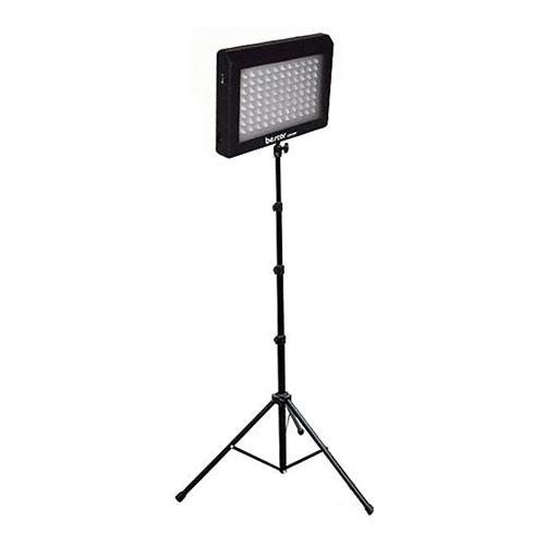 Bescor Bescor LED-95DS 95W Dimmable LED Light with 5.9' Stand, AC Adapter Bescor Led