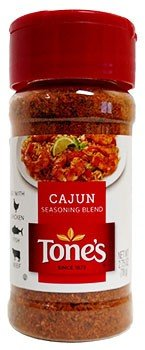 Tone's Cajun Seasoning Blend, 2.75 oz (3pack) (Tones Pepper Garlic Seasoning)