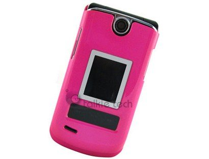 Hard Plastic Hot Pink Phone Protector Case For LG VX8600