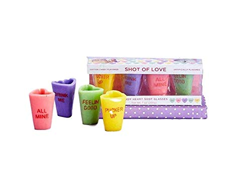 Cotton Candy Edible Shot Glasses, Set of 4 for $<!--$24.77-->