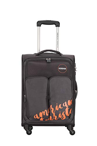 American Tourister Beverly Hills Polyester 58 cms Grey Softsided Cabin Luggage  FH3  0  08 001