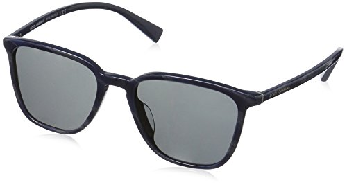Dolce-Gabbana-Mens-Acetate-Man-Wayfarer-Sunglasses-Striped-Grey-on-Blue-53-mm