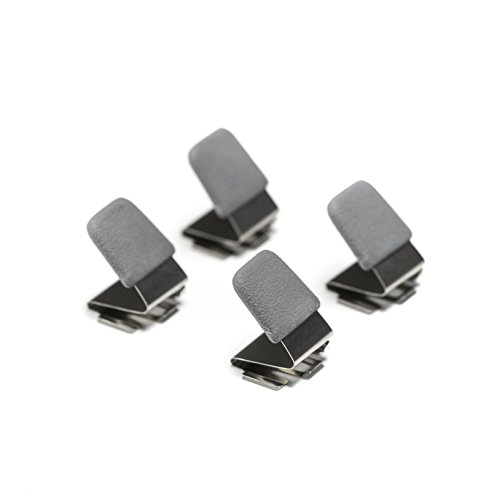 (ILLUMAGEAR HLRC-03A The Halo Light Replacement Clips, One Size, Silver/Black (Pack of 4))