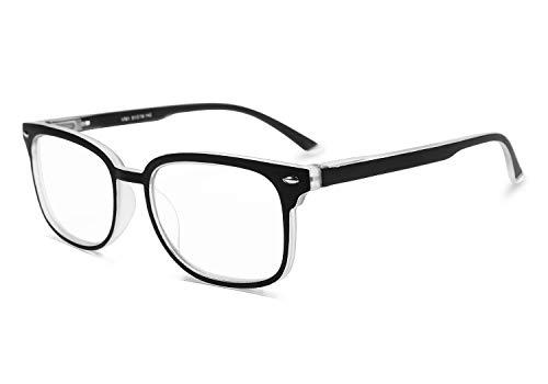 FEISEDY Progressive Multifocal Reading Glasses Blue Light blocking Reader Glasses B2497