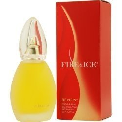 - FIRE & ICE by Revlon Cologne Spray 1.7 oz for Women - 100% Authentic